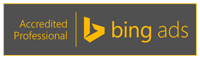 Bing ad badge